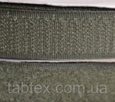 Лента липучка 20 мм.хаки.№327(25 м)(24 компл.в ящ)