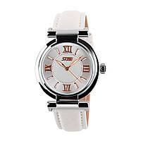 Skmei 9075 Elegant белые женские часы