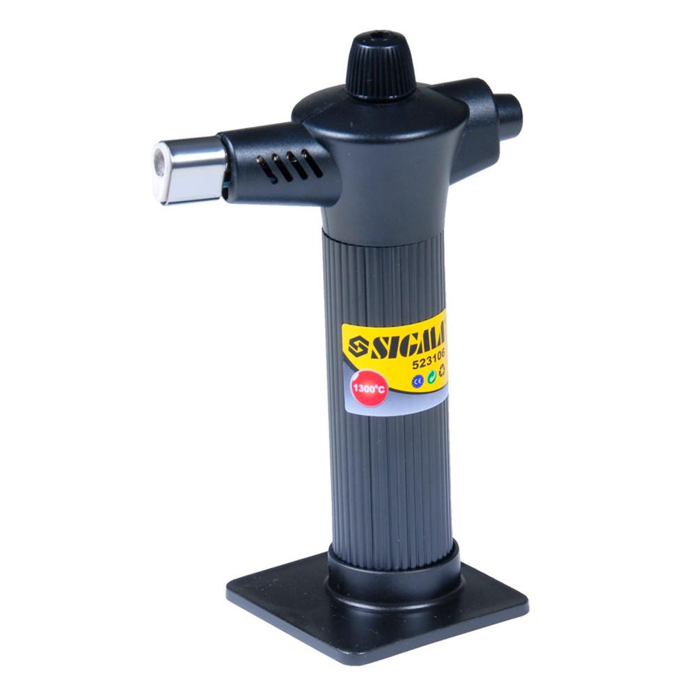 Микрогорелка газовая 1300°С (пьезозажигание) 60мин работы Sigma (2901021)