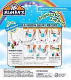 """Набор для изготовления слаймов """"Радуга"""" Клей Элмерс 3 шт. 530мг, Elmer's Rainbow slime starter kit. Оригинал, фото 8"""