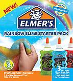"""Набор для изготовления слаймов """"Радуга"""" Клей Элмерс 3 шт. 530мг, Elmer's Rainbow slime starter kit. Оригинал, фото 9"""