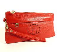 Кошелек-клатч кожаный Hermes 1905 красный, расцветки в наличии