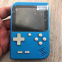 Портативная игровая ретро приставка 400 игр dendy денди для двух игроков SEGA 8bit Game Box синяя
