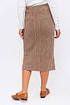 Теплая вязаная юбка (1185) разные расцветки, фото 4