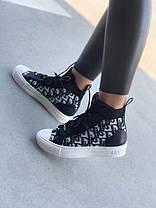 Женские кроссовки Christian Dior (36, 37, 38, 39, 40 размеры), фото 3