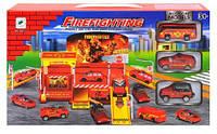 Паркинг с пожарными машинами 660-77