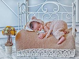 """Кроватка """"Красивая"""" для фотосессий новорожденных"""