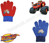 Демисезонные перчатки Вспыш (Чудо-машинки) от Nickelodeon 2-4 года, фото 1