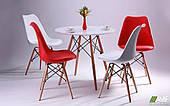 Комплект обеденной мебели для кафе: стол АМФ Helis + 4 стула Aster Wood