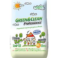 Бесфосфатный стиральный порошок Green&Clean Pro для детской одежды Green Clean Pro 2,4 кг 24 стирки 4823069702748