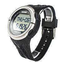 Годинник з крокоміром Skmei 1058 Black