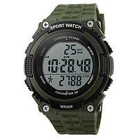 Годинник з крокоміром Skmei 1112 Green