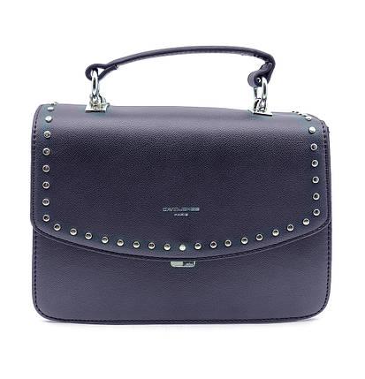 Женска сумка David Jones 17,5 x 26 x 11 см Синяя (djcm5486t/2), фото 2