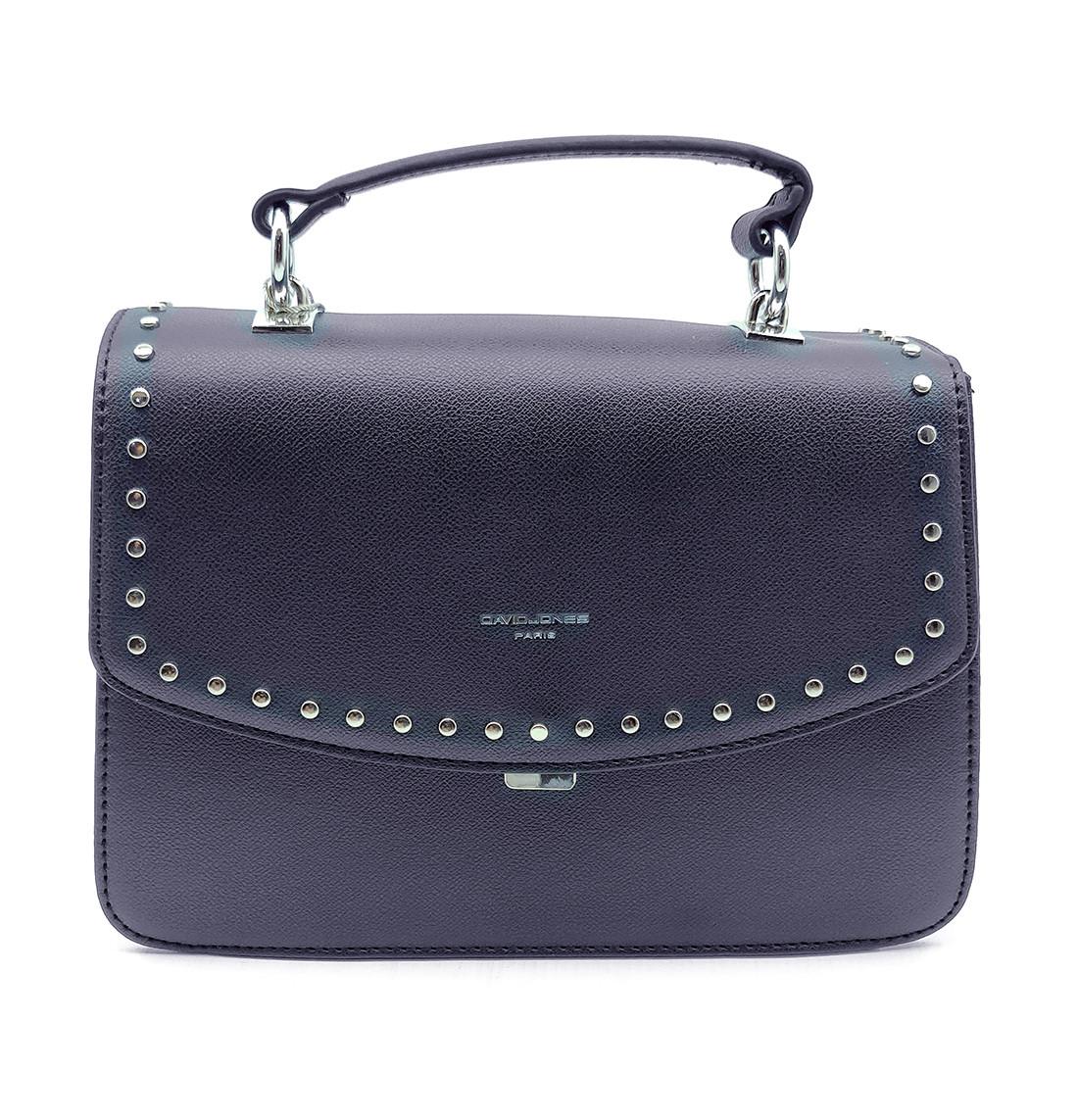 Женска сумка David Jones 17,5 x 26 x 11 см Синяя (djcm5486t/2)