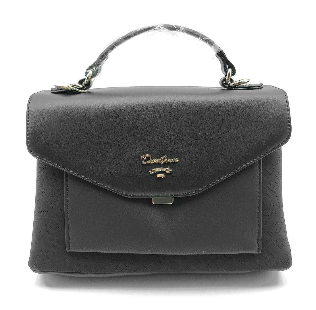 Женска сумка David Jones 19 x 27 x 11 см Черная (dj6170-2t/1)