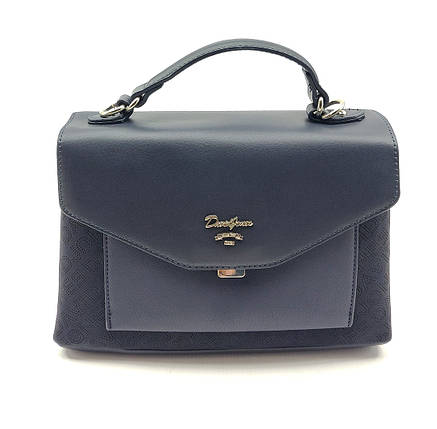 Женска сумка David Jones 19 x 27 x 11 см Синяя (dj6170-2t/2), фото 2