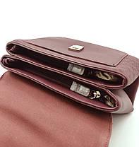 Женска сумка David Jones 19 x 27 x 11 см Бордо (dj6170-2t/3), фото 3