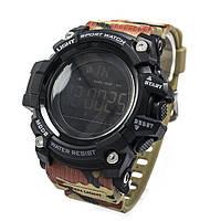 Смарт-спортивні годинник Skmei 1385 Camouflage