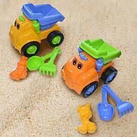 Детский набор игрушек Грузчик машина лопатка грабли одна паска маленькая 2 вида Simba 713 1670/2088