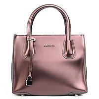 Классическая женская сумка из натуральной кожи коричневого цветацвета
