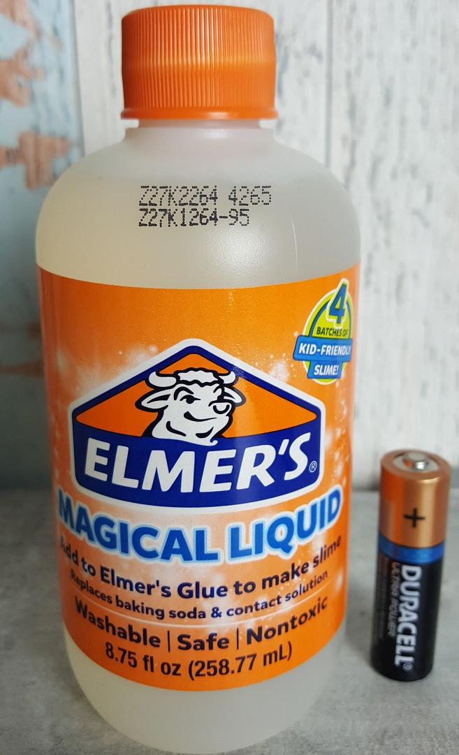 Активатор Элмерс, магическая жидкость для слаймов, 258мл. Elmer's Magical liquid. Оригинал из США