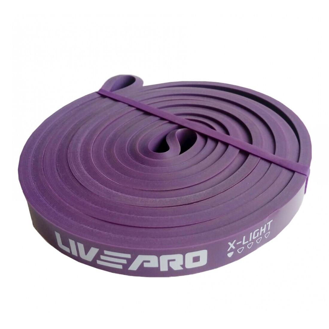 Эспандер-петли LivePro SUPER BAND X-Light 7-16 кг для подтягивания, турника, воркаута, фитнеса и тренировок.