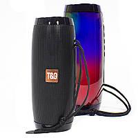 ➀Беспроводная колонка T&G TG157 Black bluetooth для музыки с флешкой и радио