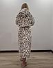 Длинный теплый халат Леопардик, фото 3