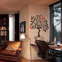 Наклейка виниловая Coffee Tree Кофейное Дерево