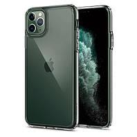 Чехол Spigen для iPhone 11 Pro Max Ultra Hybrid, Crystal Clear (075CS27135), фото 1