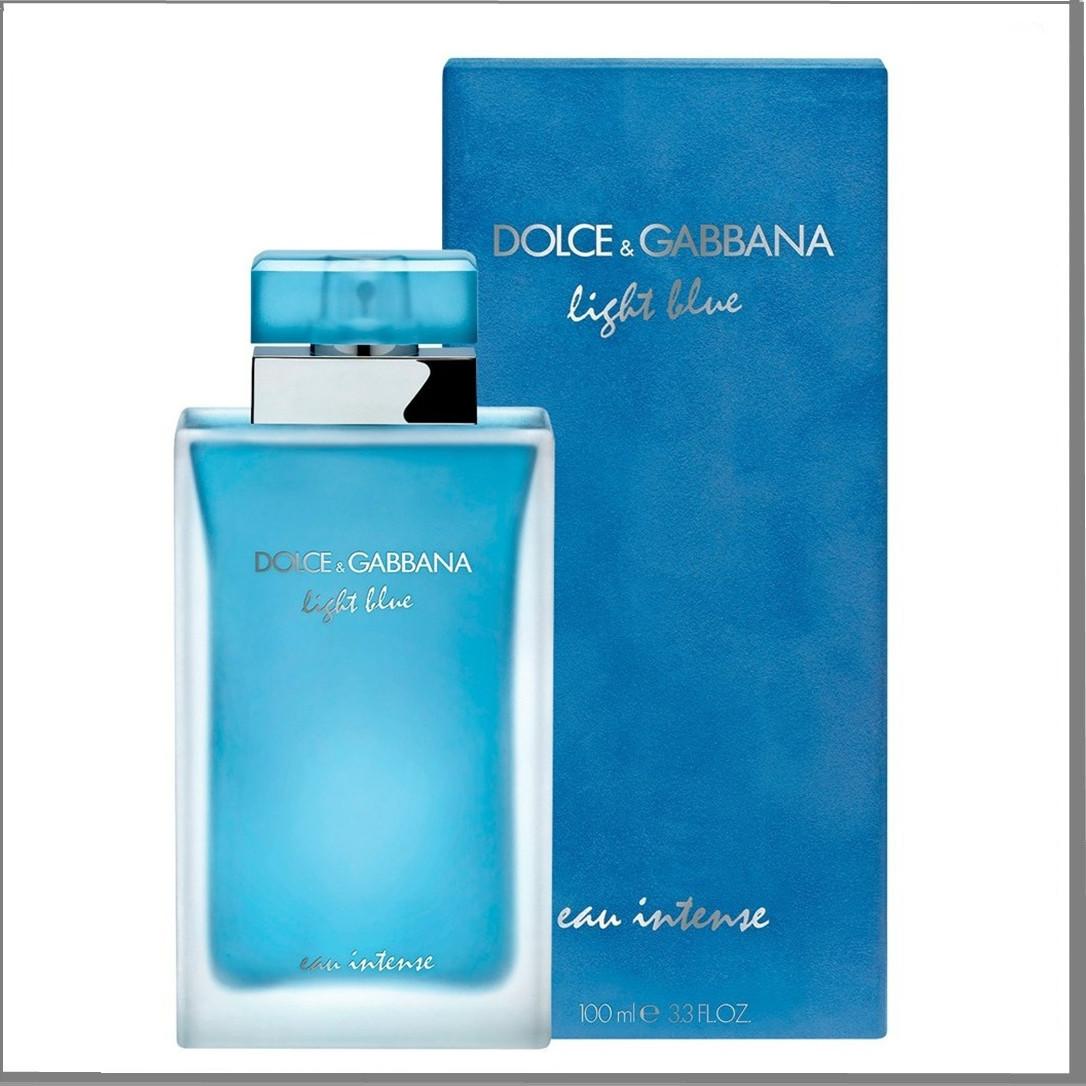 Dolce & Gabbana Light Blue Eau Intense туалетна вода 100 ml. (Дольче Габбана Лайт Блю Інтенс)