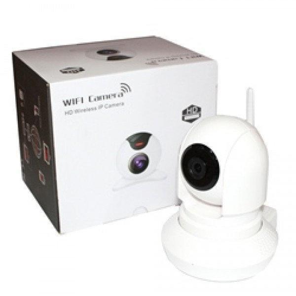 IP Камера видео-наблюдение IP 163E, WI-FI камера, онлайн поворотная, ночное видение
