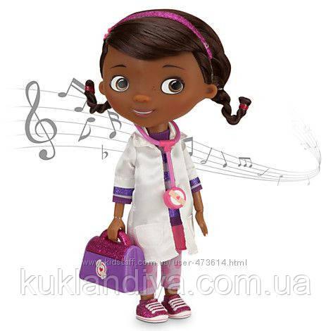Кукла Доктор Плюшева говорит и поёт Disney