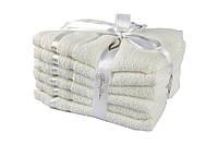 Набор полотенец Nisa молочный 30*50 см 6шт. 30х50 см