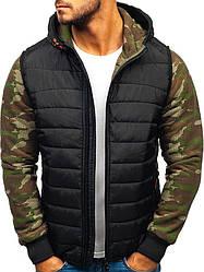 Толстовка(батник,демисезонная спортивная куртка) мужская  с капюшоном Польша