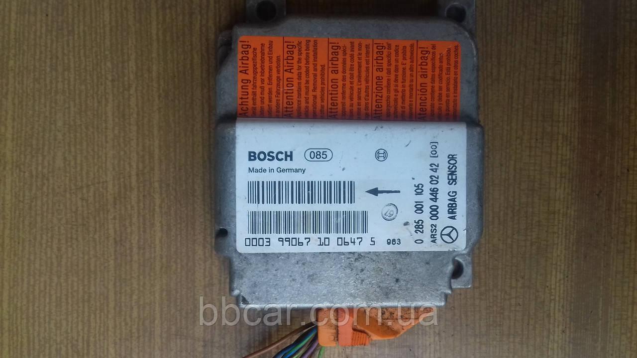 Блок управления подушкой безопасности AIRBAG  Mercedes-Benz Vito Bosch   0 285 001 105