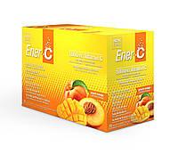 Витаминный Напиток для Повышения Иммунитета, Вкус Персика и Манго, Vitamin C, Ener-C, 30 пакетиков