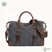 Новая модель: мужской винтажный брезентовый портфель S.c.cotton