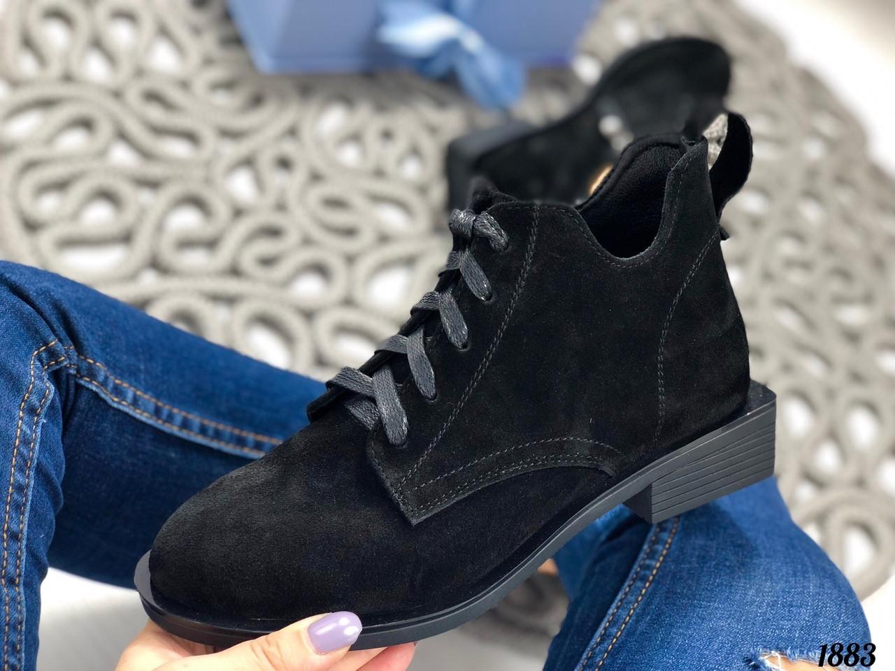Низкие ботинки женские