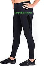 Жіночі спортивні жіночі Батал чорного кольору розміри від 50 до 56