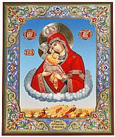 Почаевская икона со стопой (на дереве) №120