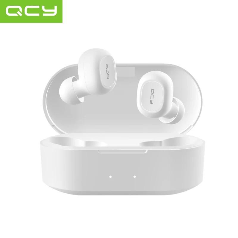 Беспроводные наушники (гарнитура) QCY QS2 White