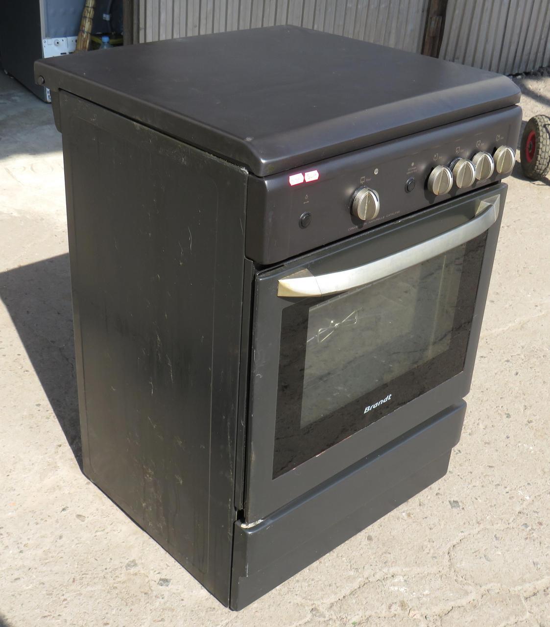 Кухонная Плита Газовая С Газовой Духовкой BRANDT (Код:1941) Состояние: Б/У