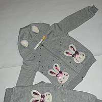 Спортивный костюм для девочки тёплый с начёсом Турция р.3,6,лет