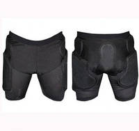 Шорты защитные для экстримальных видов спорта BC-3506 (PL, PVC, р-р M-L, черный)