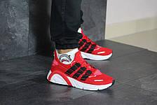 Кроссовки мужские Adidas LXCON плотная сетка,красные 41р, фото 3