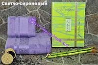 Набор бамбуковых полотенец Cestepe premium лицо + баня  Турция