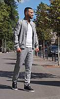 Костюм мужской прогулочный серый 40727, фото 1