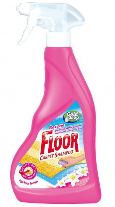 Средство (спрей) для чистки ковров и оббивки Gold Drop 500мл Весенняя свежесть