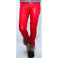 Женские зимние узкие стеганные брюки, фото 1